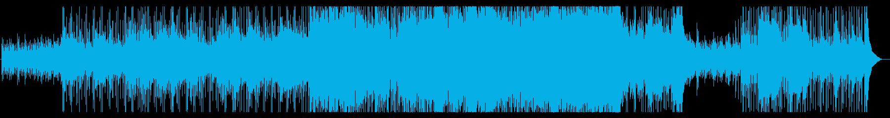 鎮魂曲 物悲しい曲調のロックバラードの再生済みの波形