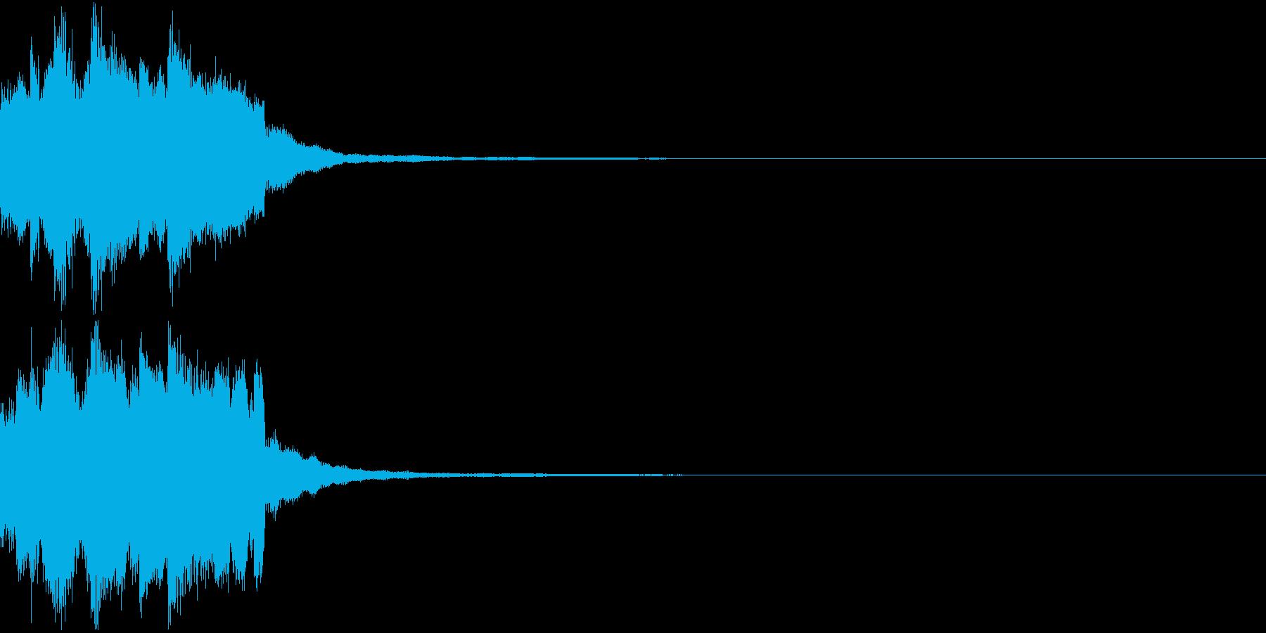 レベルアップ アイテム 入手 発見 2の再生済みの波形