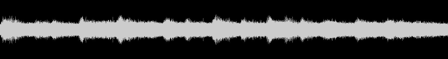 【環境音】ひぐらしの未再生の波形
