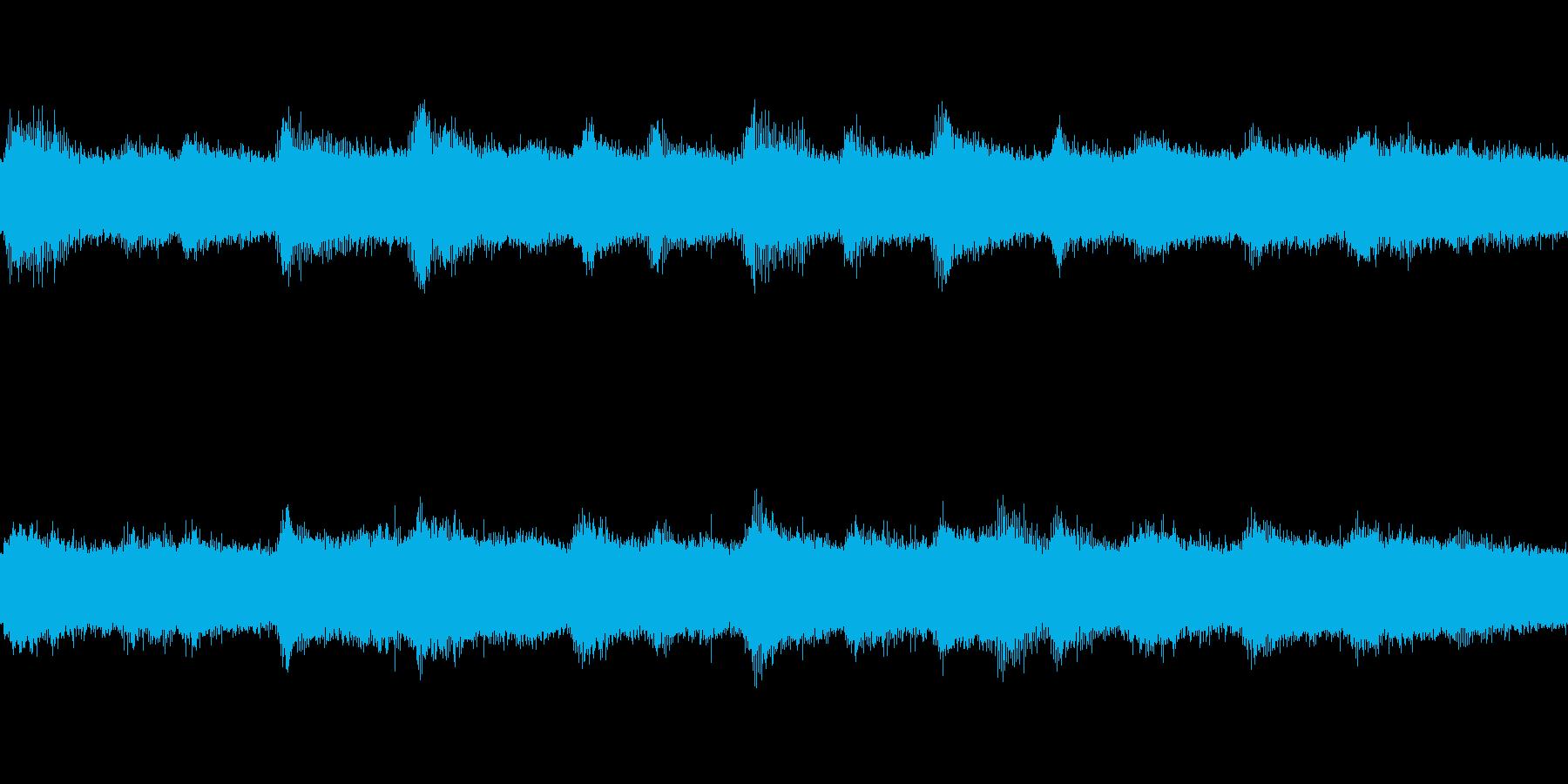 【環境音】ひぐらしの再生済みの波形