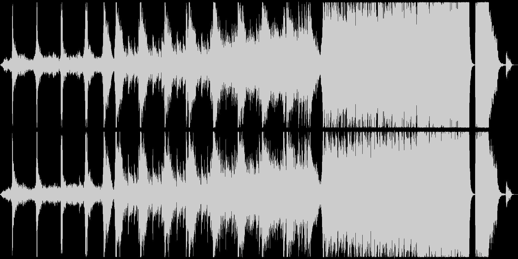 電気音響シンフォニー 劇的な 神経...の未再生の波形