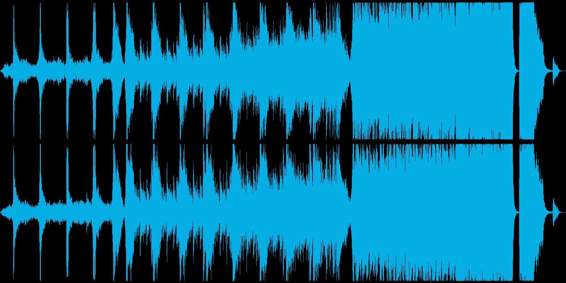 電気音響シンフォニー 劇的な 神経...の再生済みの波形