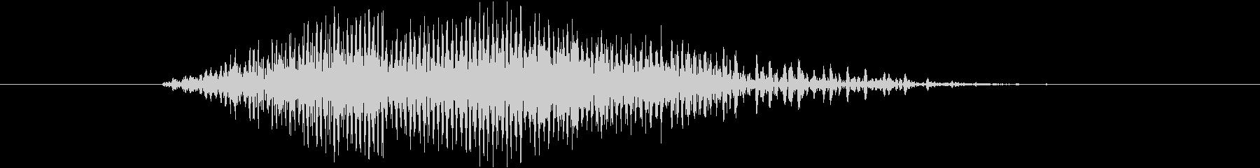 鳴き声 男性コンバットヒットハード13の未再生の波形