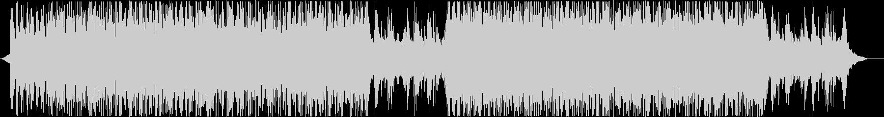 爽やかでポップなピアノのBGMの未再生の波形