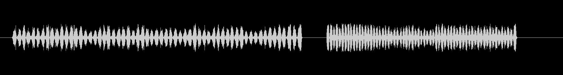 ガラス紙5の未再生の波形