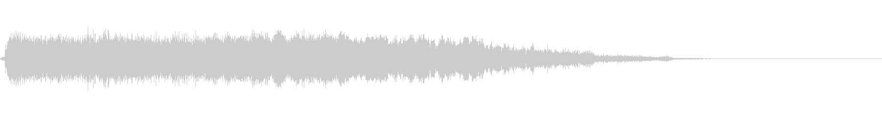 ロックブルースバンパー3の未再生の波形