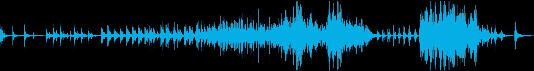 ピアノソロ:サビ2分41秒:癒しの再生済みの波形