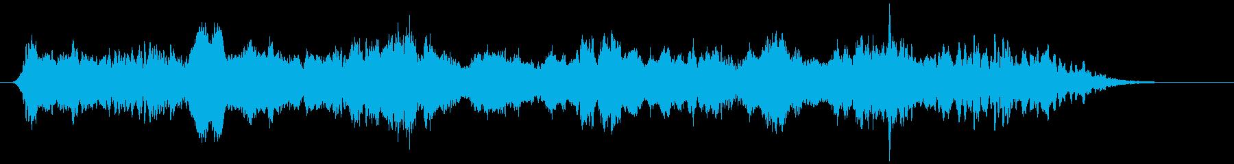 ホラー・サスペンス系軋み効果音2の再生済みの波形