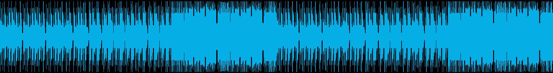 FC風ループ 坂の上での再生済みの波形