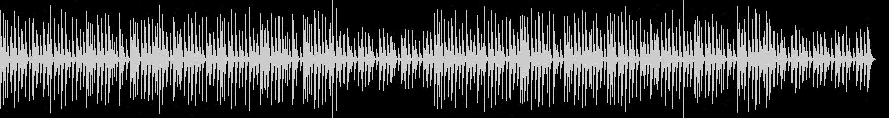 マリンバ・ほのぼの・日常の未再生の波形