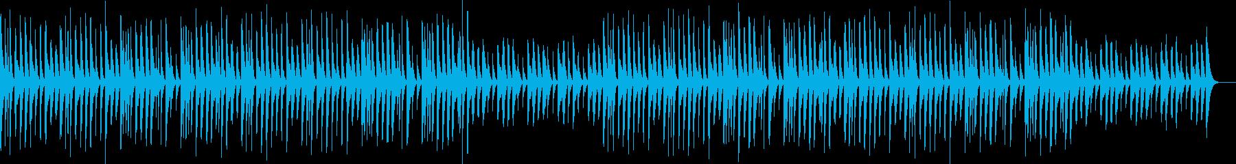 マリンバ・ほのぼの・日常の再生済みの波形