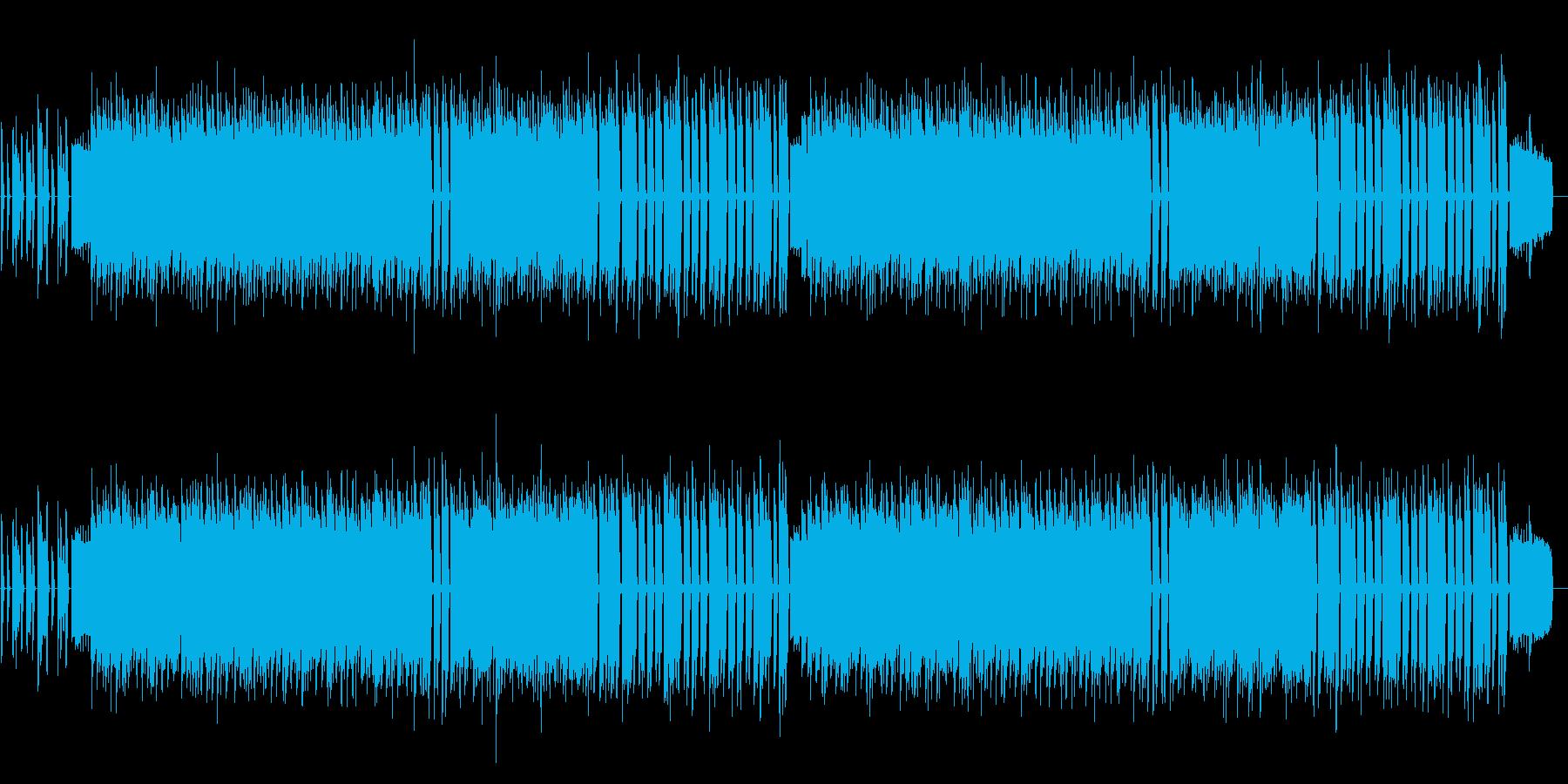 8bit NES style nostalgic music's reproduced waveform