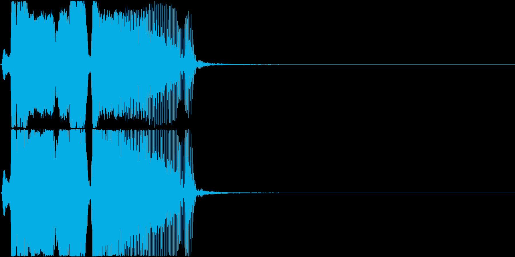 「ボーナスタイム」アプリ・ゲーム用3の再生済みの波形