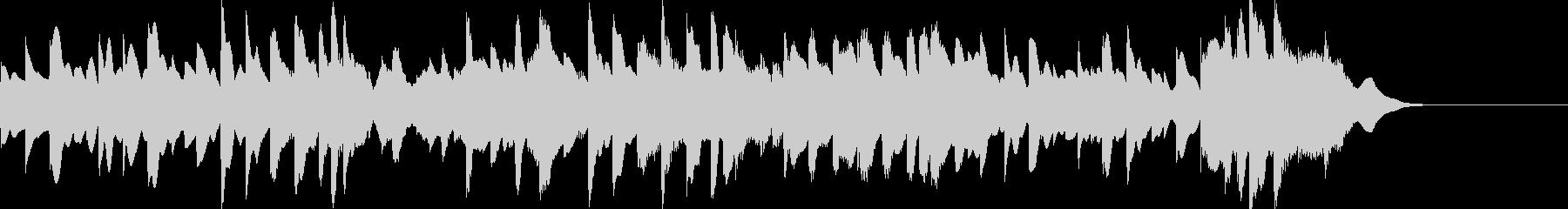 正月定番「さくらさくら」オルゴールカバーの未再生の波形