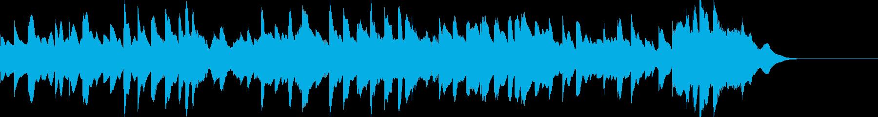 正月定番「さくらさくら」オルゴールカバーの再生済みの波形