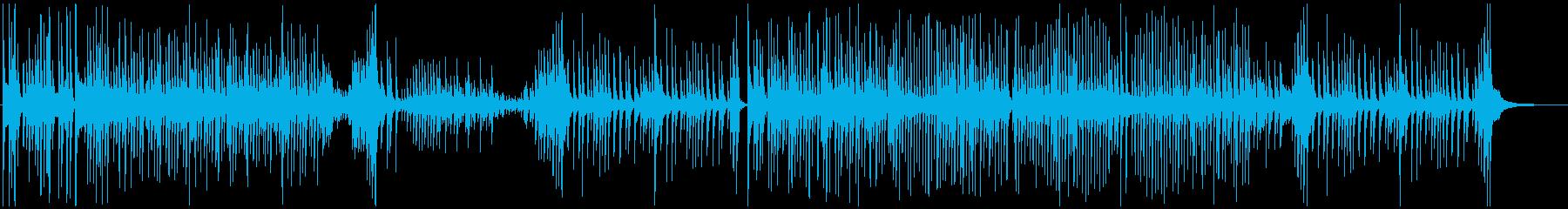 津軽三味線ソロ-D、激しい、疾走、声なしの再生済みの波形