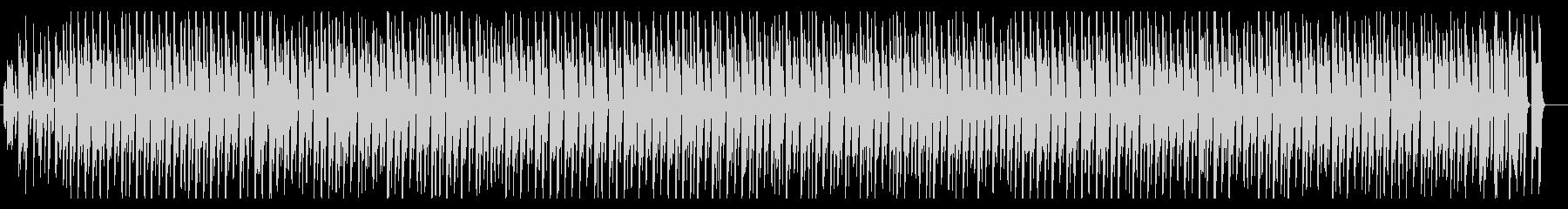 クッキング動画のBGMにの未再生の波形