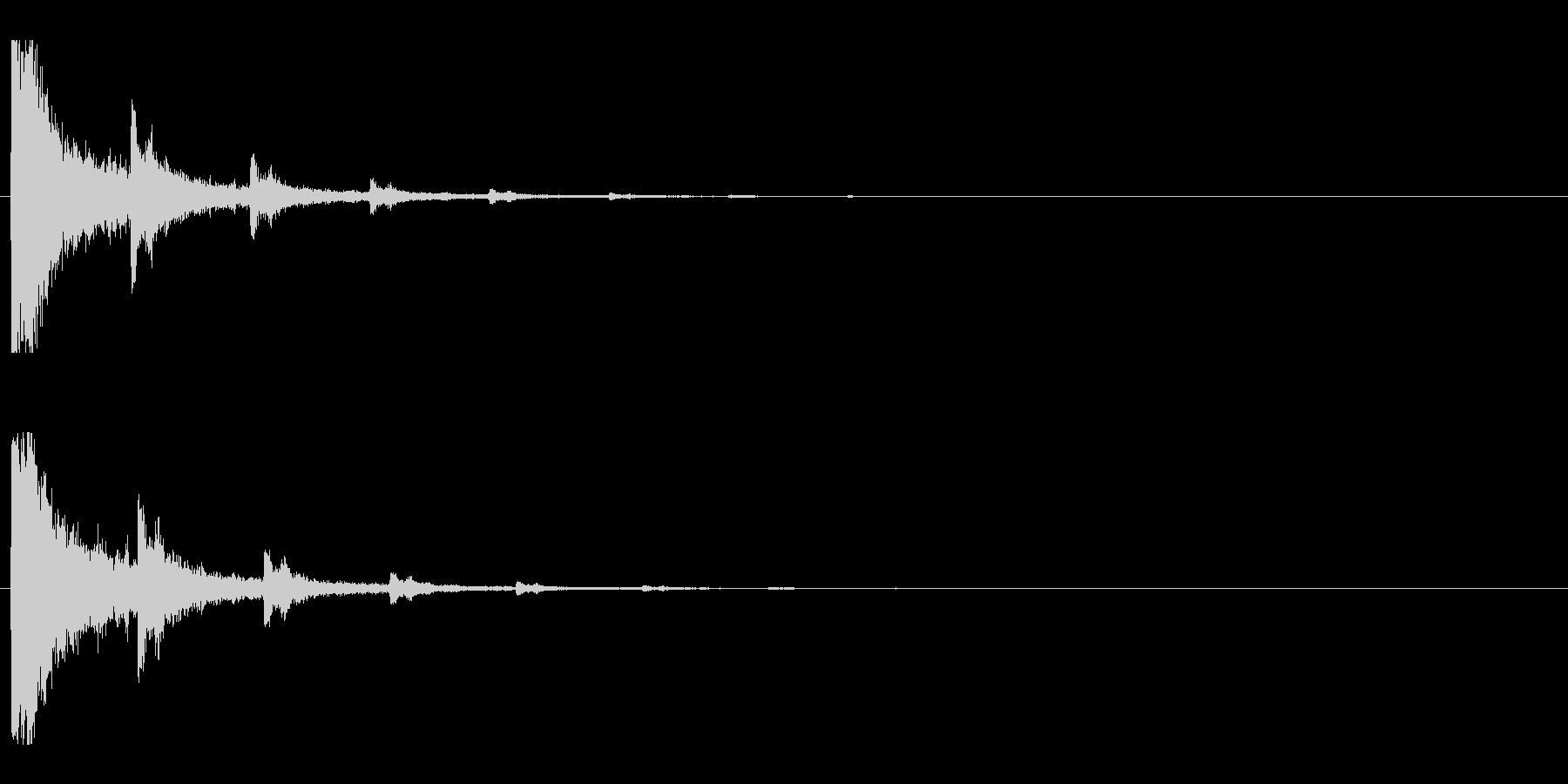 レーザー音-01-2の未再生の波形