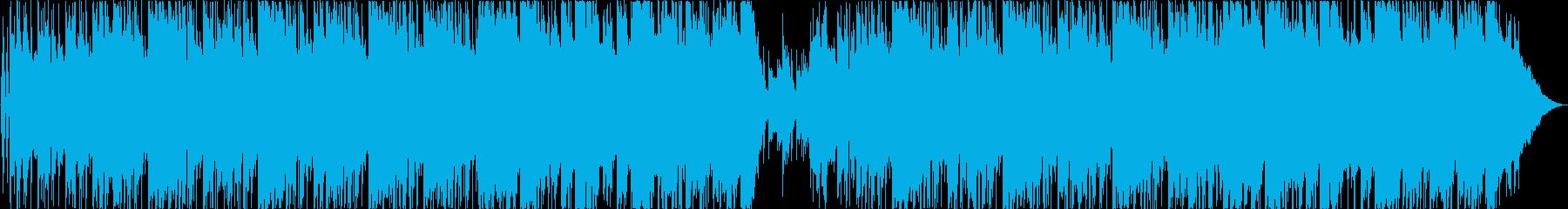 チル系HIPHOP/まったりステイホームの再生済みの波形