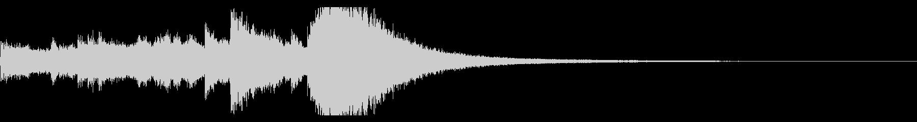 クリスマスベルのジングル,ロゴ!01の未再生の波形