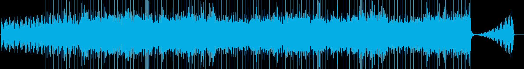ホラー、パワー、ハードロックBGM276の再生済みの波形