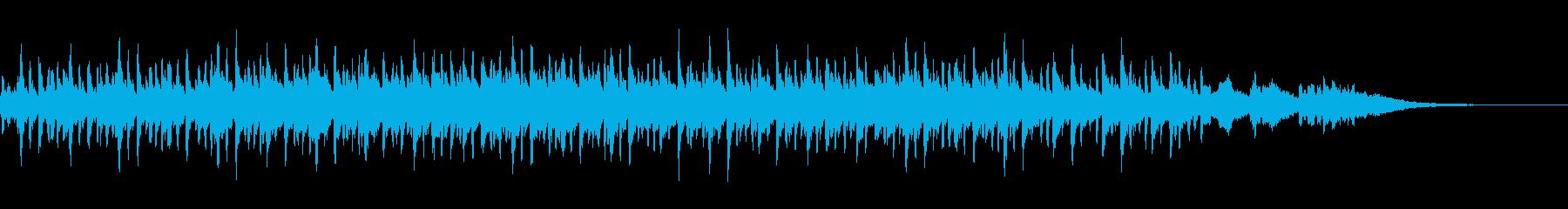 独特なリズムで響きが迫力あるメロディーの再生済みの波形
