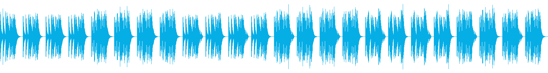 Everyday / Loose / Comical Recorder's reproduced waveform