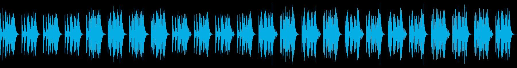 日常・脱力・コミカル・リコーダーの再生済みの波形