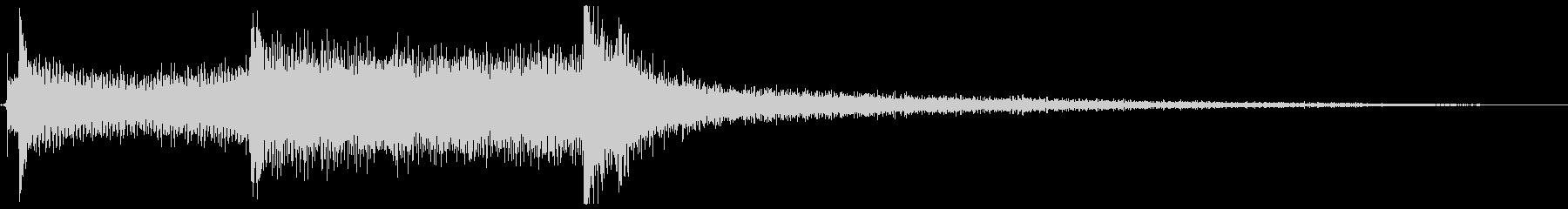 ハイテクドアコンプ3の未再生の波形