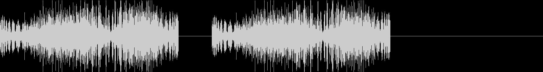 DJプレイ スクラッチ・ノイズ 315の未再生の波形