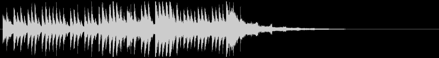 困難なミッションに挑むイメージ(15秒)の未再生の波形