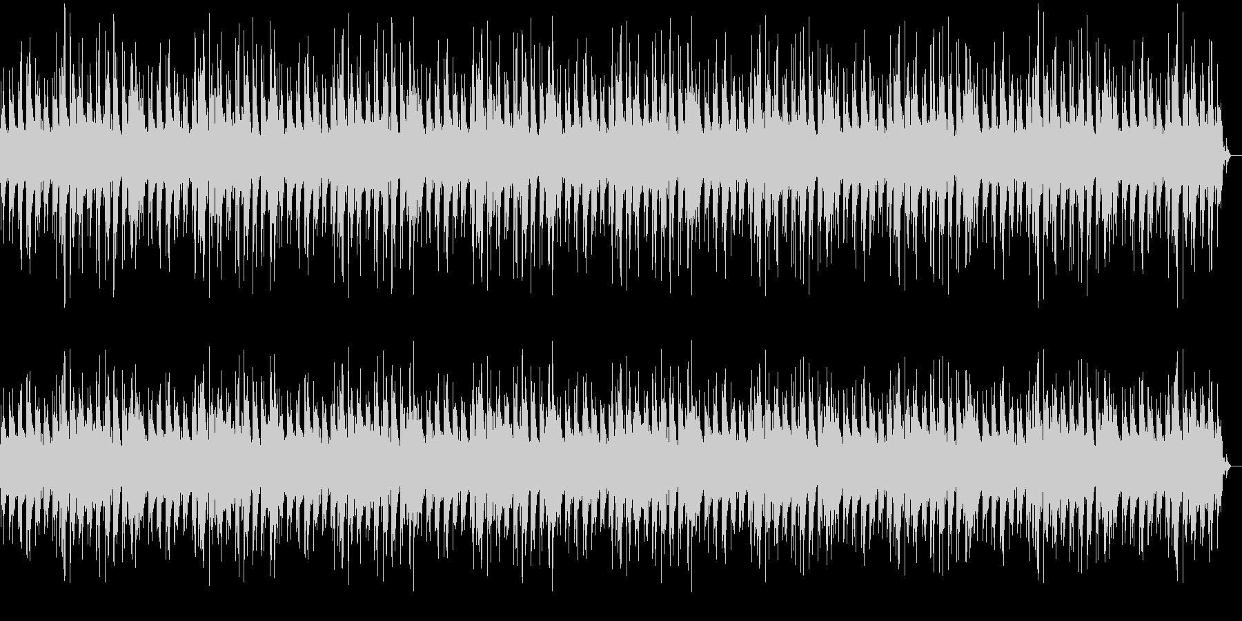 幻想的で穏やかなピアノバラードの未再生の波形