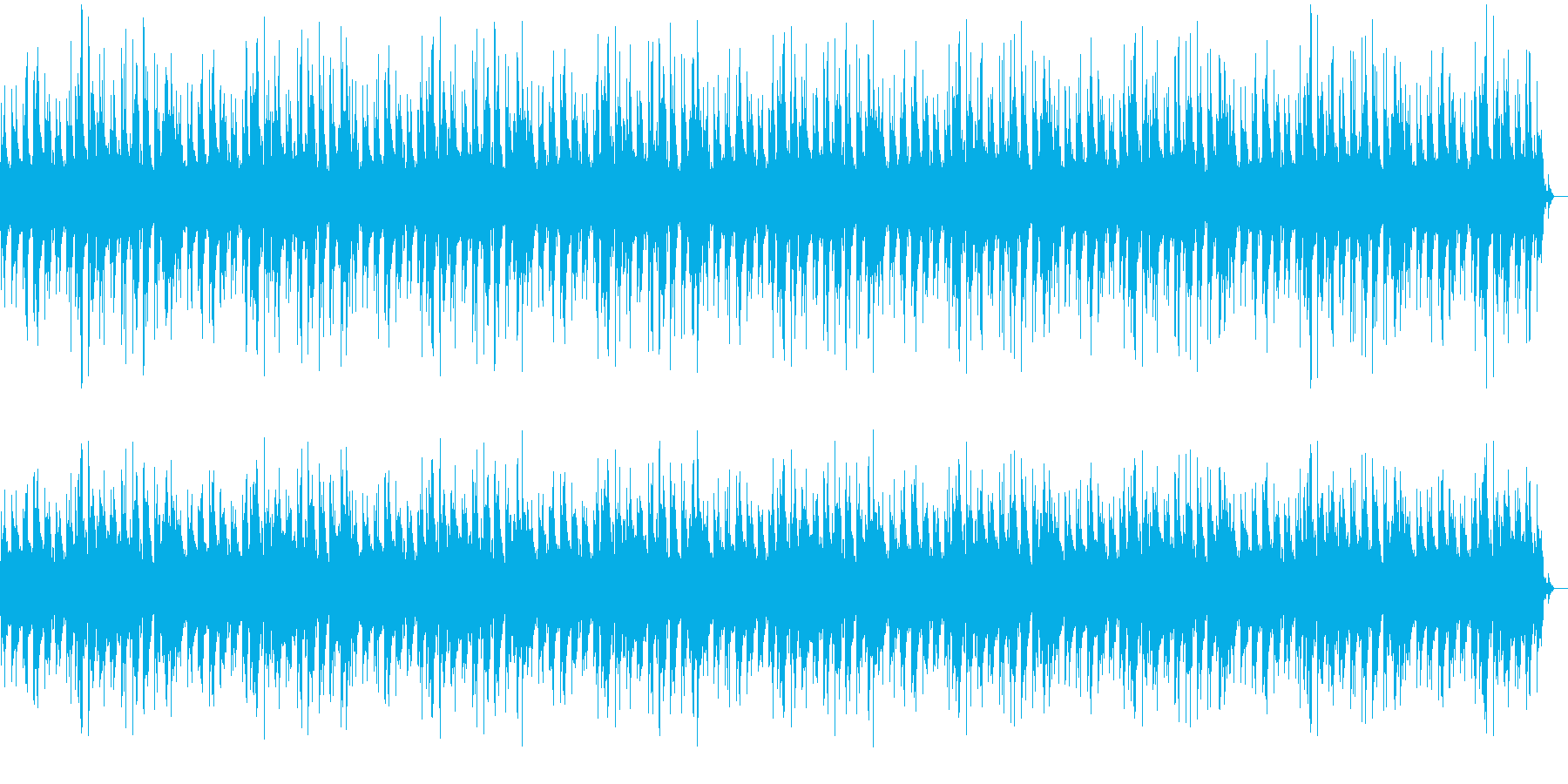 幻想的で穏やかなピアノバラードの再生済みの波形
