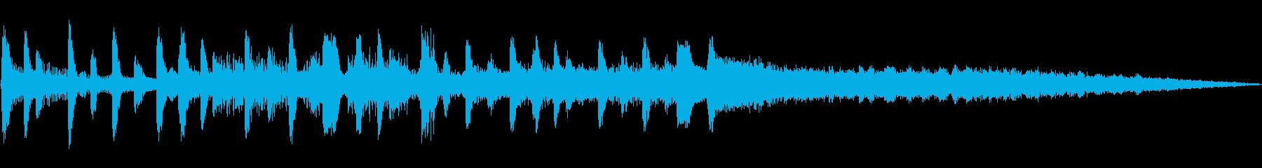 プレイタイムベッドの再生済みの波形