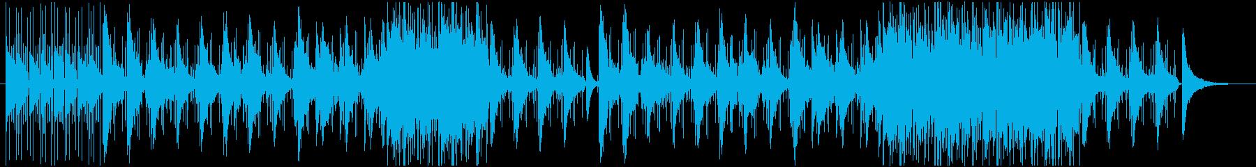 不思議な雰囲気のJazz-Popsの再生済みの波形