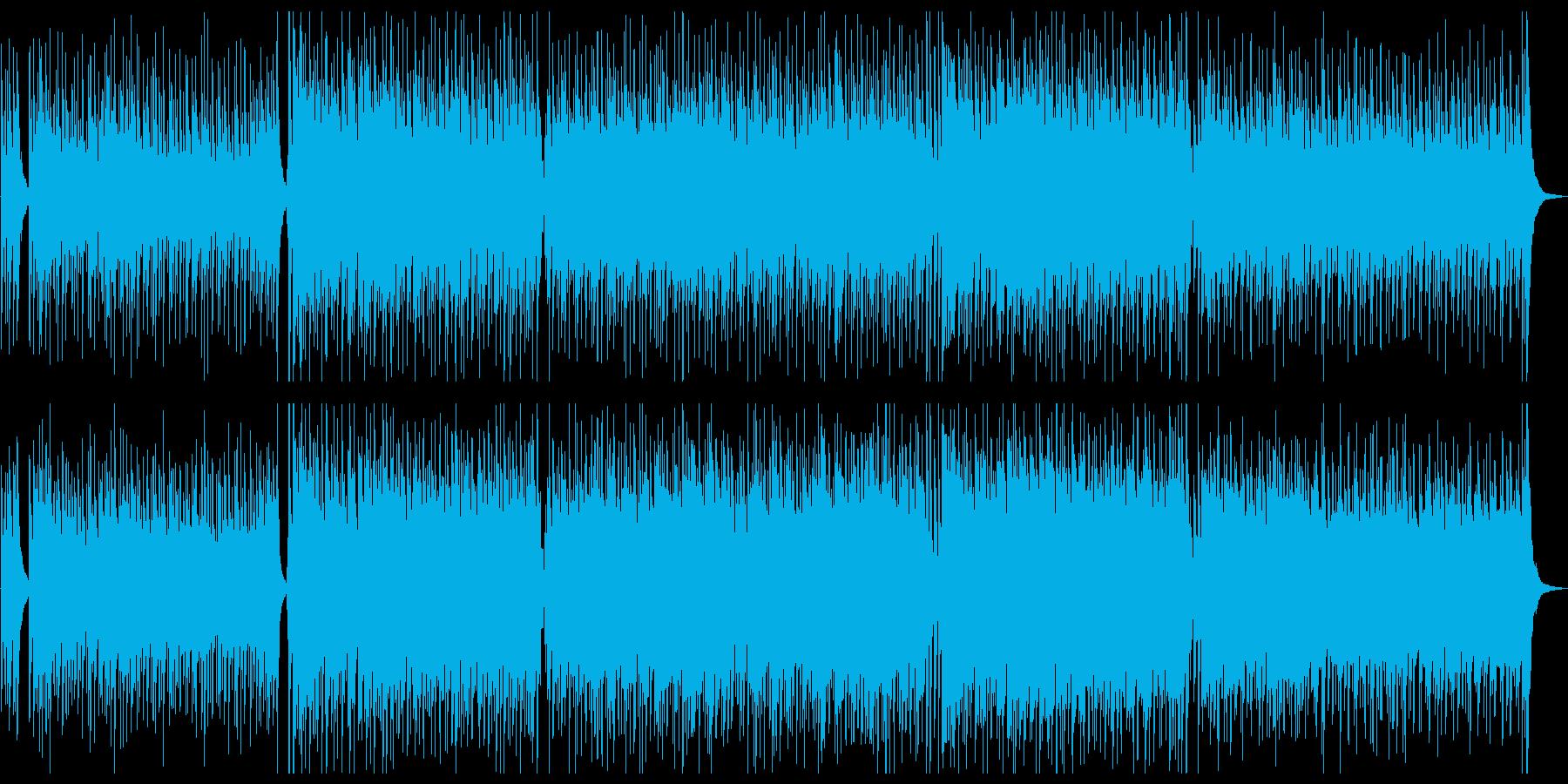 楊琴がメインの戦闘系中華風楽曲の再生済みの波形