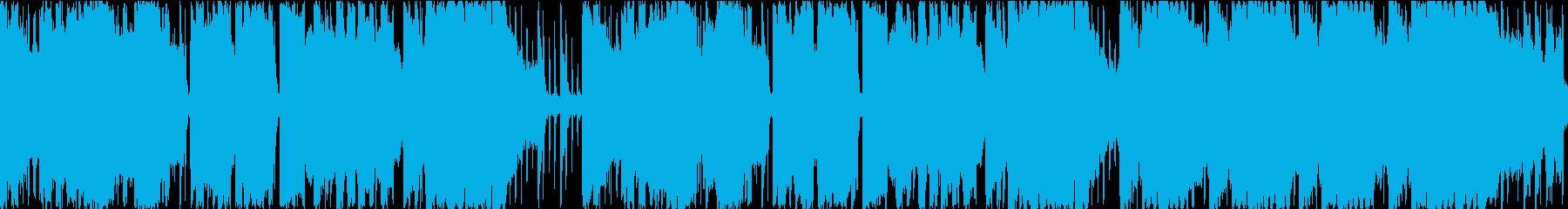 アラビアの町並み風BGM 民族音楽の再生済みの波形