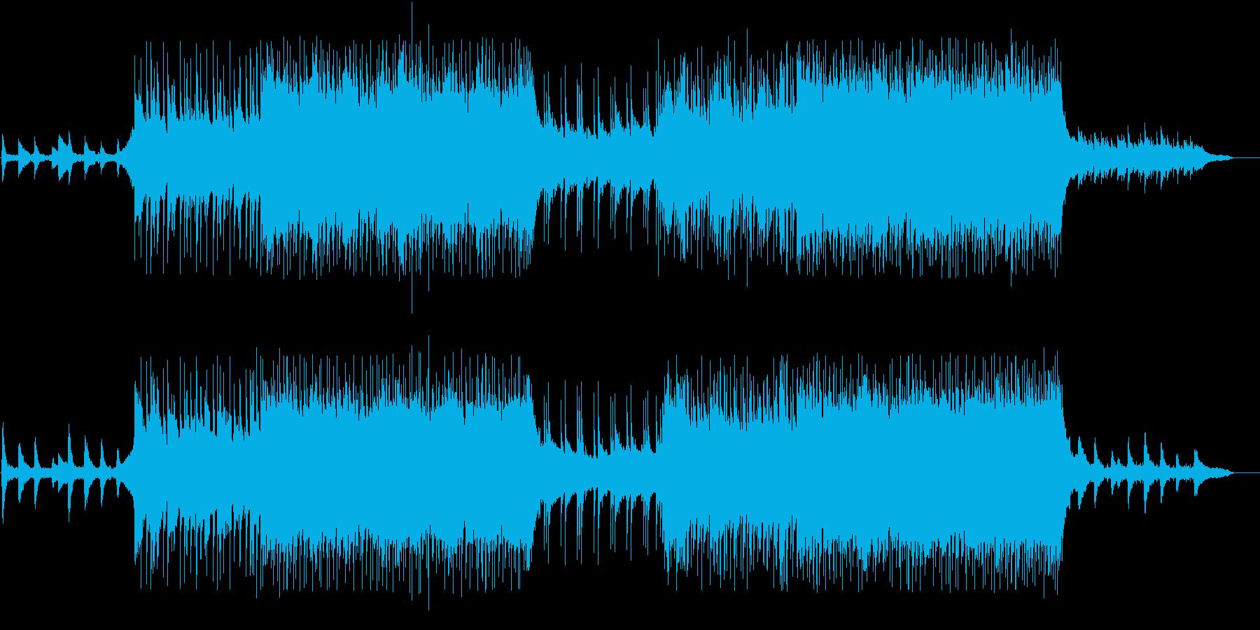 VP系27A、スポーツ系、爽やかロックの再生済みの波形