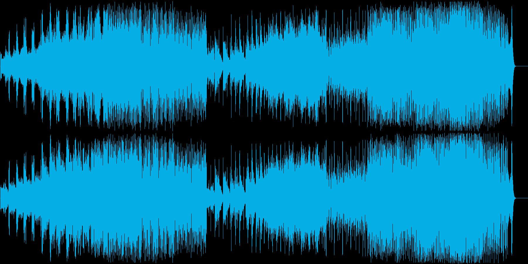 人気のある電子機器 劇的な 神経質...の再生済みの波形