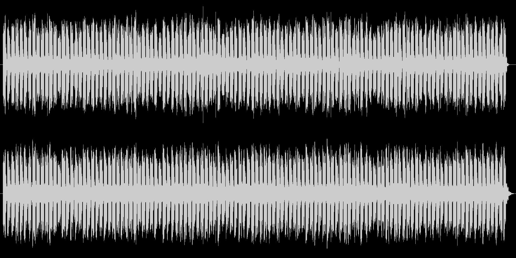 制限時間が迫ってくる効果音の未再生の波形