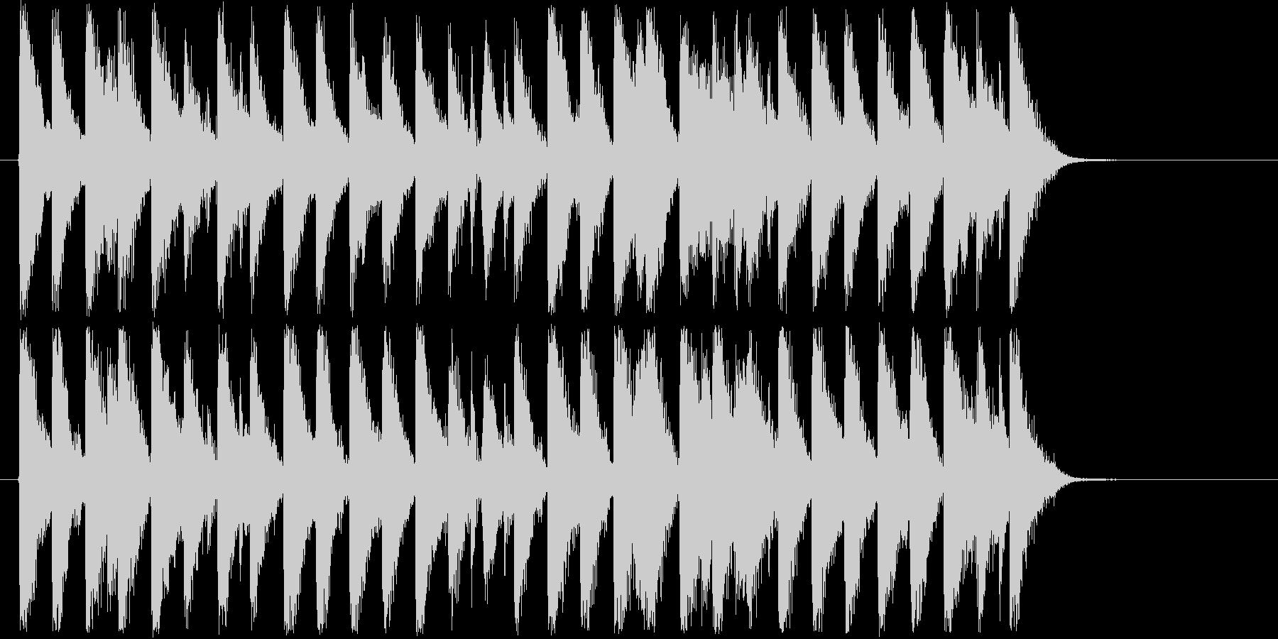 冬にピッタリなコーポレート系ジングルの未再生の波形