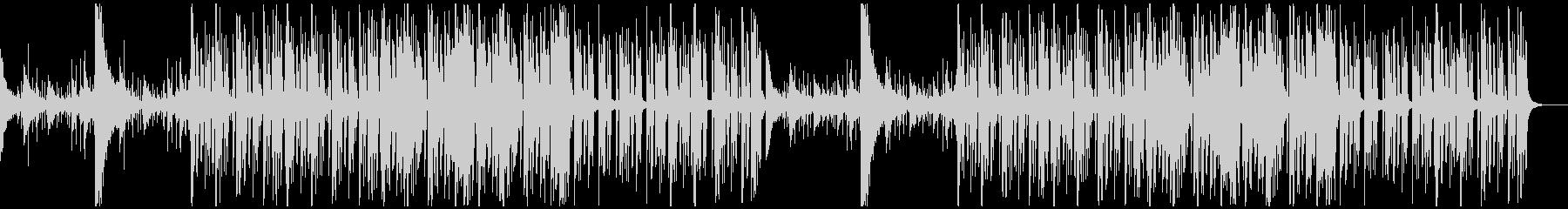 【チル】ゆったりとしたBGM・6の未再生の波形