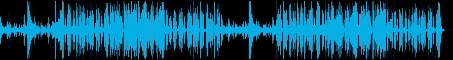 【チル】ゆったりとしたBGM・6の再生済みの波形