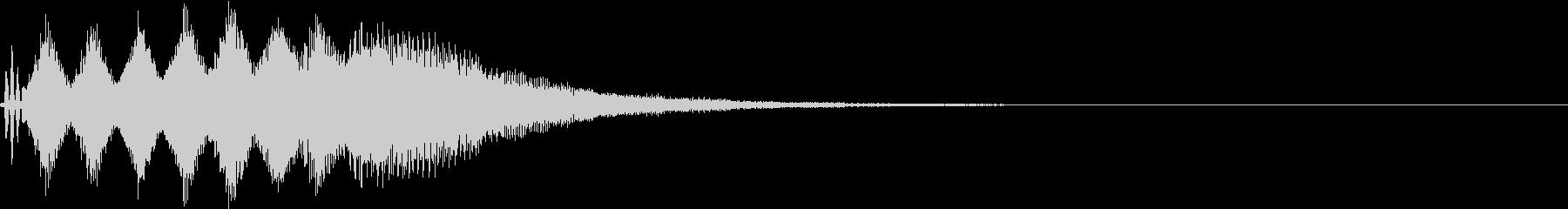 TVFX 目立たせ・アイキャッチ 19の未再生の波形
