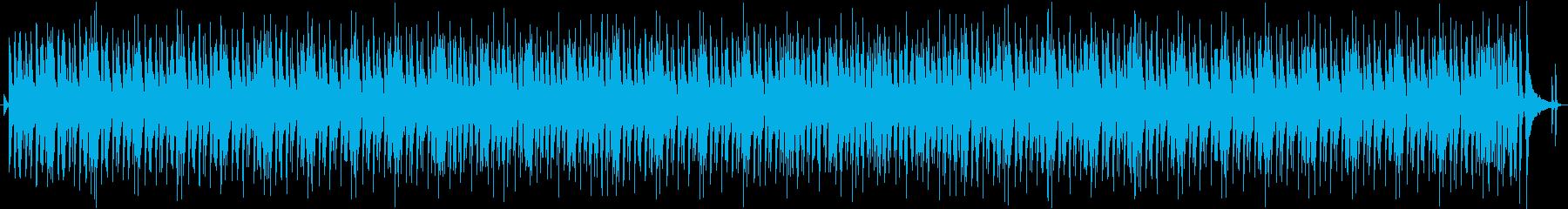 懐かしく優しい気分になれるアンプラグド曲の再生済みの波形