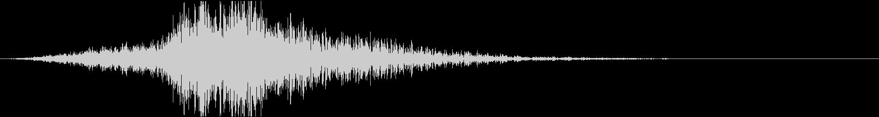 スティンガー;不気味な声合唱団。の未再生の波形