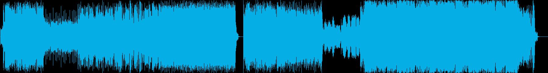 背景をポップします。 2.20で素...の再生済みの波形
