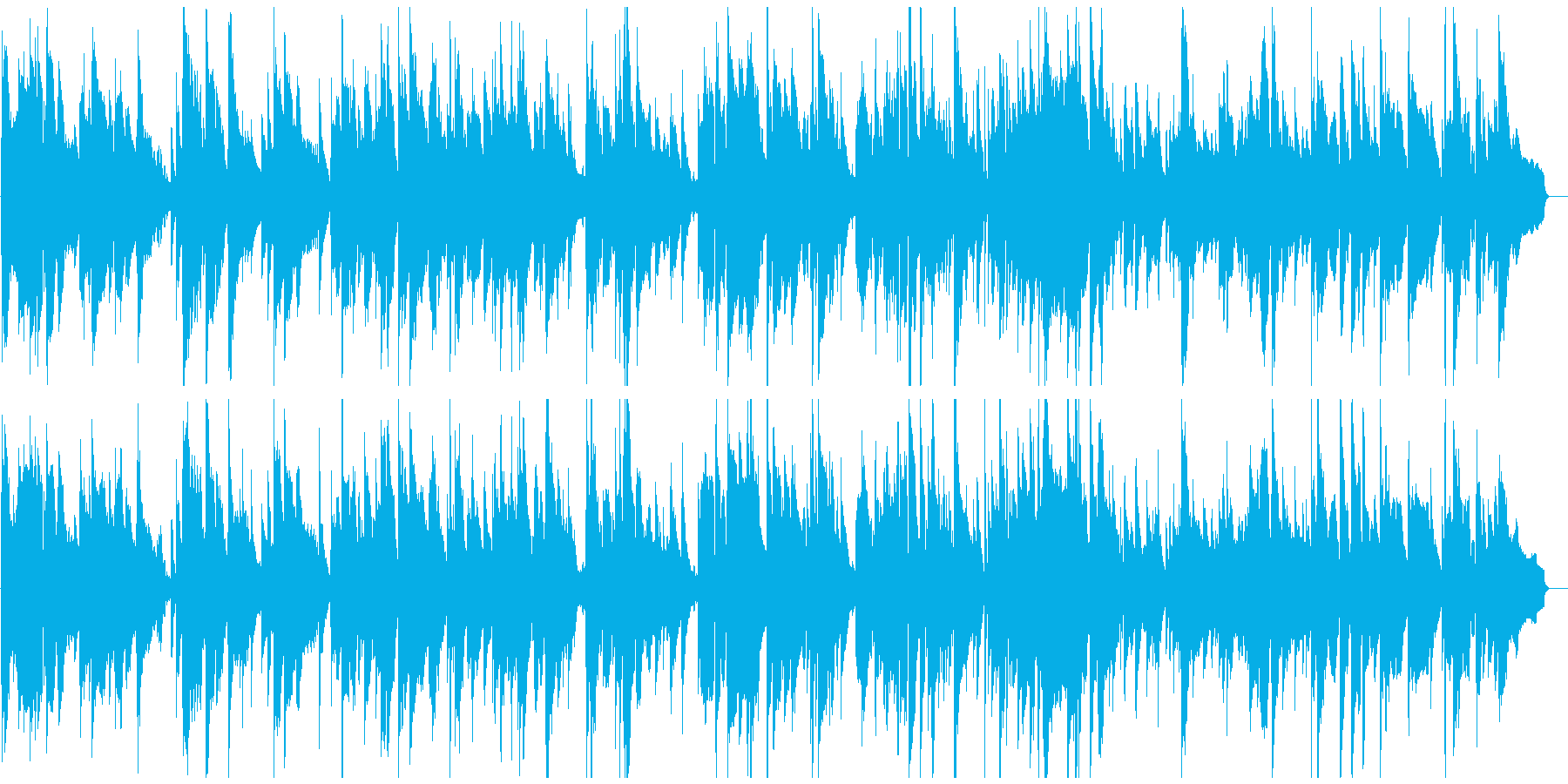センチメンタルで穏やかなジャズバラードの再生済みの波形