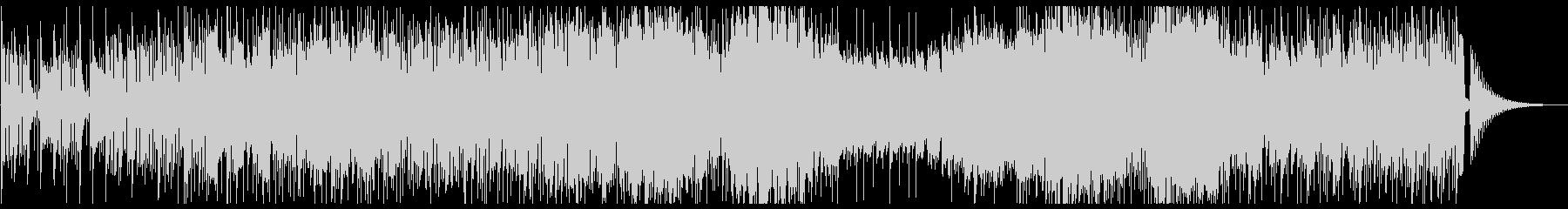サックスとトランペットのクールなファンクの未再生の波形