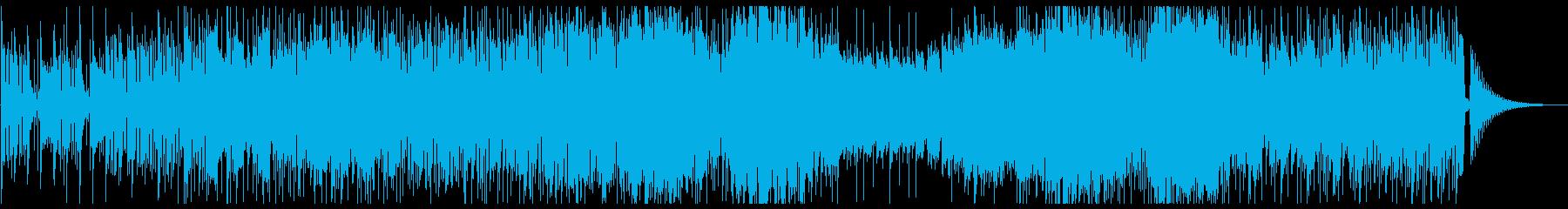 サックスとトランペットのクールなファンクの再生済みの波形